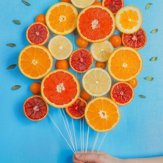 ballon d'oranges à jus La petite Orange