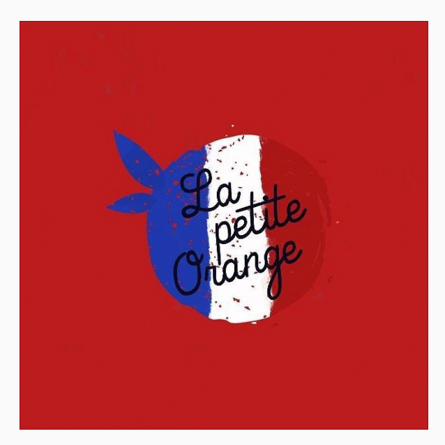 Logo La petite orange version équipe de france