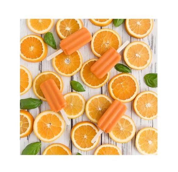 glace à l'orange La petite Orange