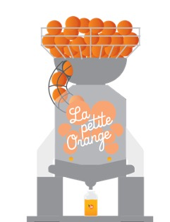 machine à jus d'oranges professionnelle